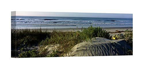 Easy Art Prints Panoramic Images's 'Kiawah Island Golf Resort, Kiawah Island, Charleston South Carolina' Premium Canvas Art 36 x 12