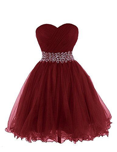 HeleneBridal sweetheart Beading Prom Dress Short Homecoming Dress Cocktail Dress