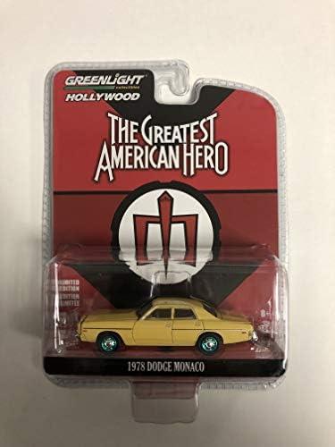 Dodge Monaco 1978 The Greatest American Hero Yellow GREENLIGHT 1:43 GREEN86555 M