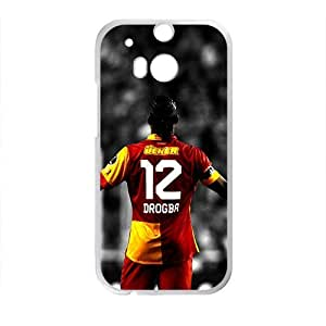HDSAO Didier Drogba Galatasaray Lion Black Red Yellow Phone Case for HTC One M8