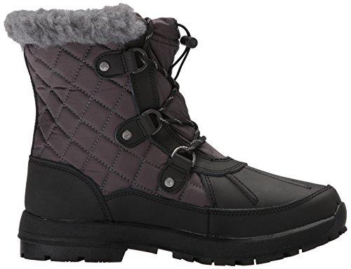 Boot Bethany Black Women's Grey Snow Bearpaw FTtzWqwxn