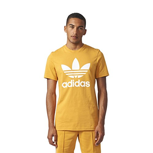 adidas Originals Men's Tops | Trefoil Tee, Tactile Yellow, X-Large