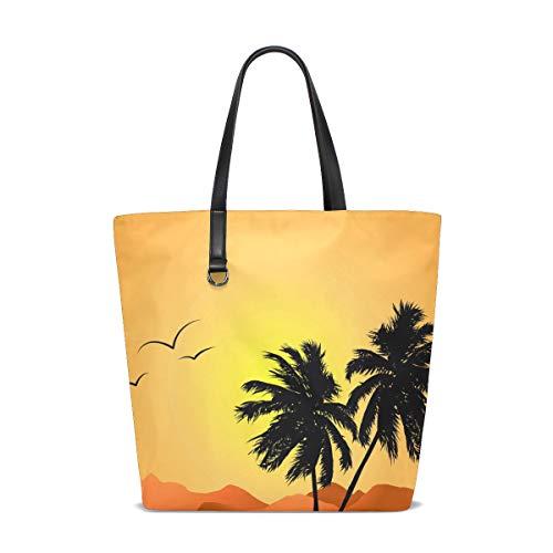 Pour Bennigiry 001 Taille Femme Tropical Unique Tote À Porter L'épaule Sunset Sac Landscape ppfnHq