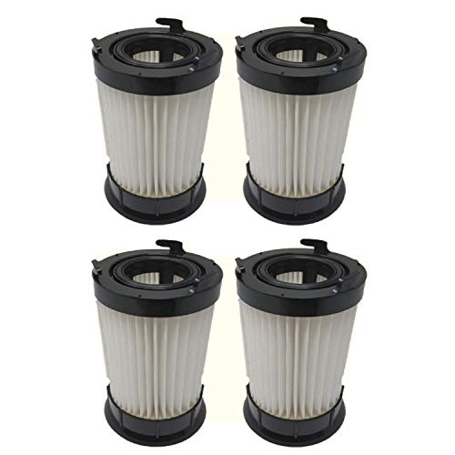 4 Pack Eureka DCF-4 DCF-18 HEPA Filter By ZVac