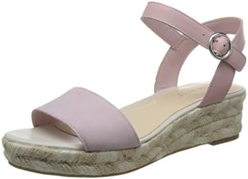 Nine West Women's Allium Leather Platform Sandal