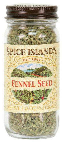 Spice Islands Fennel Seed, Whole, 1.8-Ounce (Pack of 3) by Spice Islands