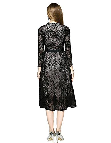 Lace Black New Fashion s Dress Party Long Borje Evening Women For Dress Design 1pw477q8