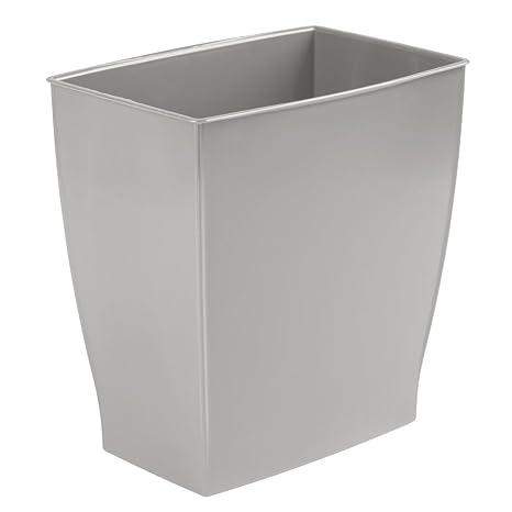 mDesign bidone spazzatura - ideale come cestino spazzatura o ...