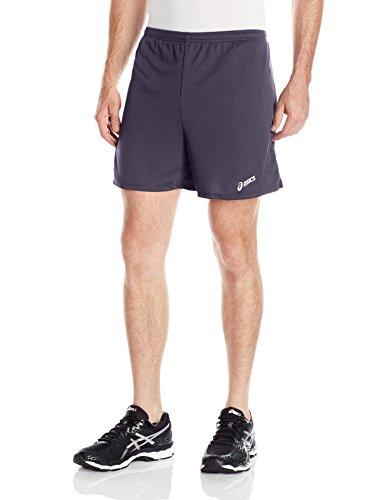 ASICS Men's Rival Ii Shorts, Steel Grey, - Steel Shorts
