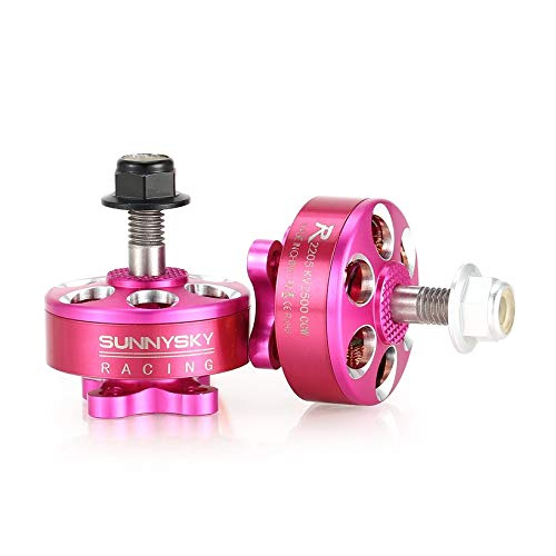 4pcs SUNNYSKY R2205 2205 CW/CCW 2500KV 3-4S Brushless Motor for Mini Drone RC by Wikiwand (Image #7)