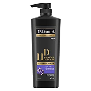 Tresemme Hair Fall Defense Shampoo, With Keratin Protein, Upto 97% Less Hair Breakage, 580 ml