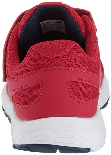 New Balance Boys' 519v1 Hook and Loop Running Shoe, Chili Pepper/Nubuck Scarlet, 2 M US Infant by New Balance (Image #2)