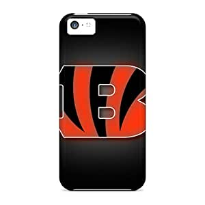 Iphone 5c DHX17902GLAr Custom Beautiful Cincinnati Bengals Image High Quality Hard Phone Case -JamieBratt