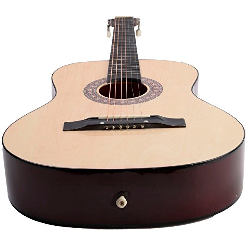 Acoustic Guitar W/ Guitar Case, Strap, Tuner and Pick for Beginners (Pedal Steel Guitar Tablature)