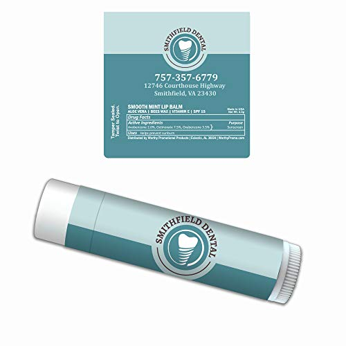 Personalized Label Premium Lip Balm 50-Pack Business Events Giveaways