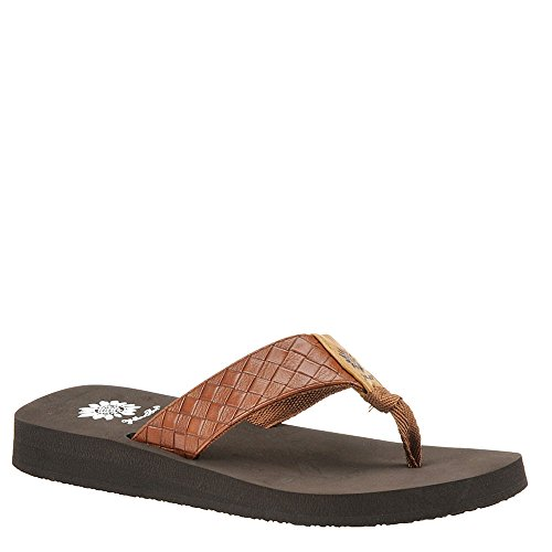 Yellow Box Women's Cocoa Sandal, Brown, 8.5 M US by Yellow Box