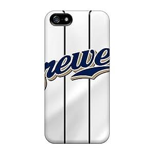 For Iphone 5/5s Fashion Design Milwaukee Brewers Case-WEG2245zoUg