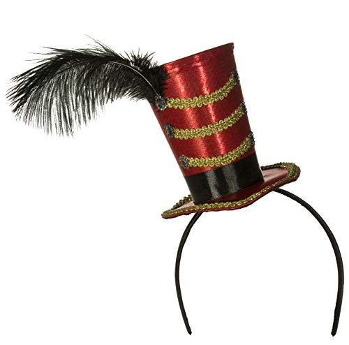 Circus Ringmaster Majorette Mini Cocktail Top Hat