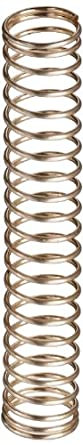 """Silver-Coated Beryllium Copper Compression Spring .236"""" OD x .018"""" Wire Size x 1.375"""" Free Length (Pack of 10)"""