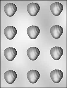 CK Products 1-1/2-Inch Clam Shell Chocolate Mold