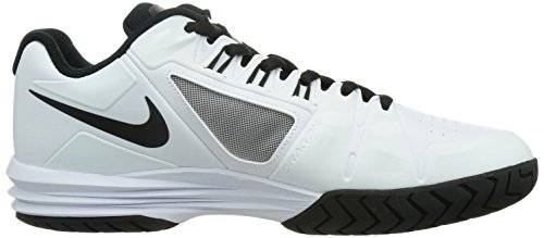 Nike Lunar Ballistec 1.5 Heren Tennisschoenen 705285 Sneakers Schoenen Wit / Zwart-cool Grijs