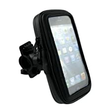 Boat Rail or Canopy support Mount & Holder fits Samsung Galaxy S3 with Lifeproof Case on it. Rotates 360 degrees and has quick release button.
