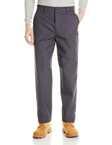 Red Kap Men's Wrinkle-Free Work Pants, Charcoal, 38W x 30L from Red Kap