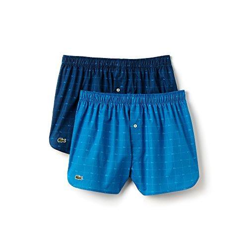 Blau Shorts di Trunks Xl Double Uomo colori Boxer Selezione türkis Lacoste zq5BOO
