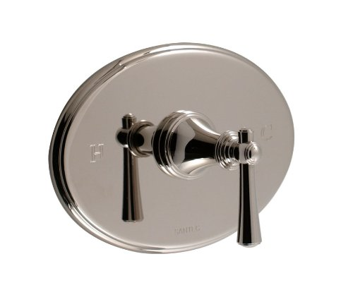 Santec 6531VO91-TM Wrought Iron Vogue Single Handle Pressure Balance Shower Valve Trim with Metal Lever Handle from the Vogue Collection 6531VO-TM