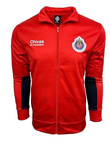 - Chivas Del Guadalajara Jacket,Track Soccer Jacket, Adult Sizes Soccer Football Official Merchandise (Medium)