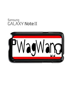 WagWan Blud Funky Mobile Cell Phone Case Samsung Note 2 Black