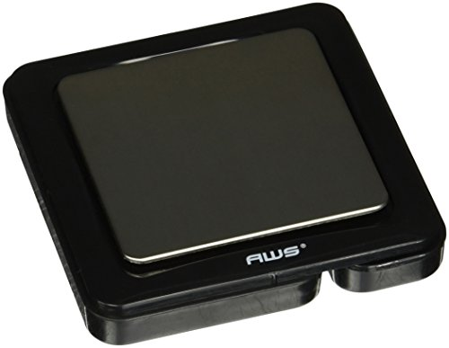 American Weigh Scales Blade Series Digital Precision Pocket Weight Scale, Black, 1000 x 0.1G