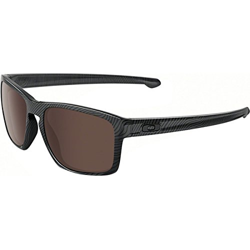 Oakley Mens Sliver Fingerprint Sunglasses, Dark Grey/Warm Grey, One ()