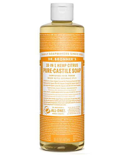 Dr Bronner Orange Soap (Dr. Bronner's Fair Trade & Organic Castile Liquid Soap - (Citrus Orange, 16 oz))