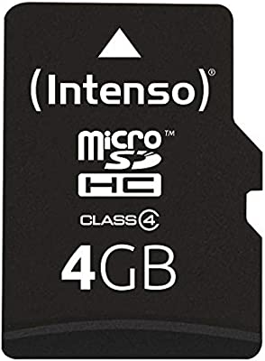 Intenso 3403450 - Tarjeta de memoria micro SD de 4 GB (adaptador ...