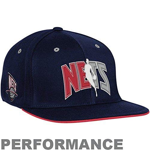 Products New Jersey Nets - Adidas New Jersey Nets Flat Brim Flex Official 2010 Draft Cap Small/Medium