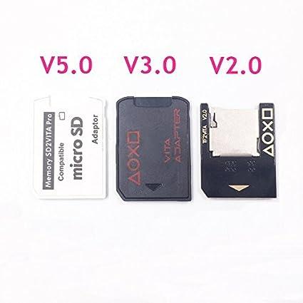 Adaptador de tarjeta de memoria SD2VITA para lector de ...