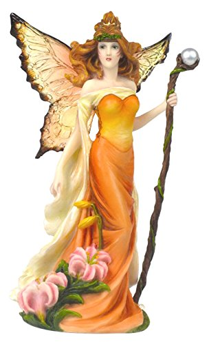 Amazon.com: Pacific Giftware Resin Tiger Lilly Fairy Woman with ...