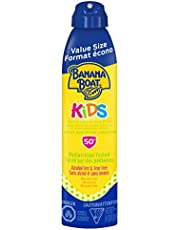 Banana Boat Kids Tear Free Sunscreen Clear Spray, Spf 50+, Broad Spectrum Protection, Value Size, 226G, 226 Grams