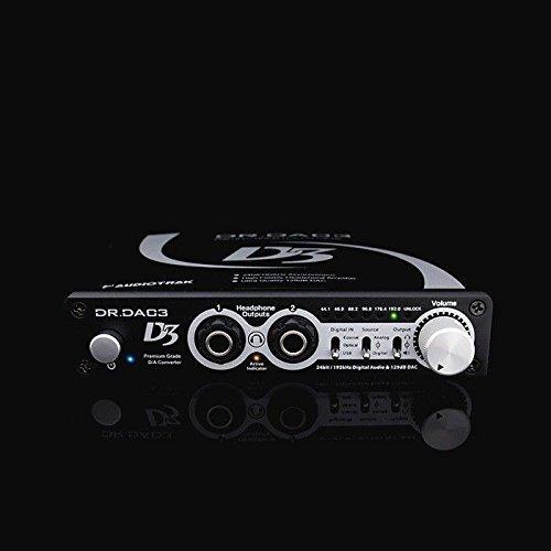AudioTrak DR.DAC3 External Sound Card/USB2.0 480Mbps, Asynchronous DualHeadphone by AudioTrak