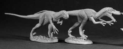 Miniature Velociraptor Dinosaur - Raptors (2) (OOP)