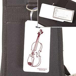 (Violin Case ID Tag)