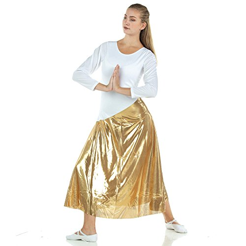 9631f77a1d30 Danzcue Womens Bi Color Long Sleeve Worship Dance Dress - Buy Online in  Oman. | Apparel Products in Oman - See Prices, Reviews and Free Delivery in  Muscat, ...