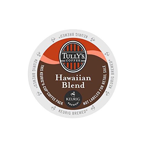 Tully's Coffee Hawaiian Blend, Medium Roast, Extra Bold, 24 Count