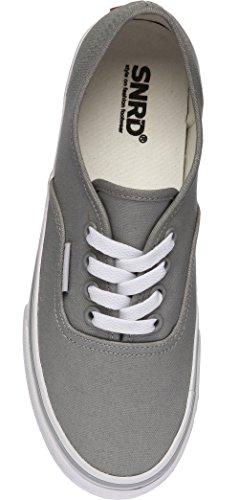 Gray Shoes SNRD Light Canvas Casual Unisex Slip Ons Simple 130 q0wzfrqP