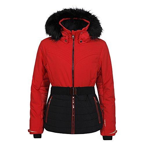 Luhta Bieta L7Women's Ski Jacket, women's, Bieta L7, Coral/Red, Medium