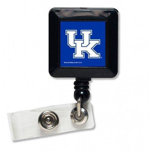 WinCraft NCAA University of Kentucky Retractable Badge Holder Black