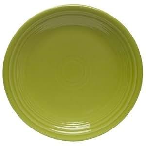 Fiesta 9-Inch Luncheon Plate, Lemongrass, Garden, Lawn, Maintenance