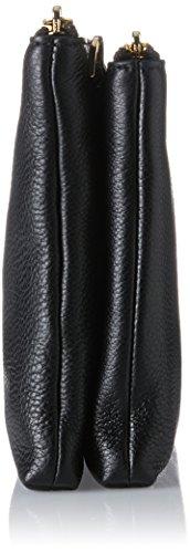 Michael Kors Adele, Bolso Bandolera para Mujer, 4.4000000000000004x15.2x24.8 cm (W x H x L) Negro (Black)