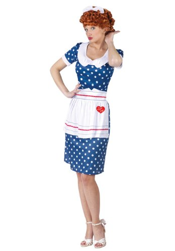 I Love Lucy Classic Costumes - I Love Lucy Sassy Lucy Adult